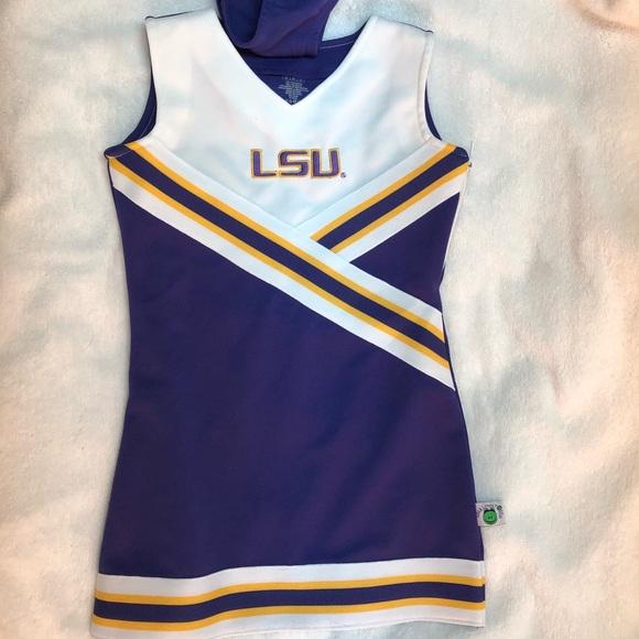 University of Louisiana Cheer Outfit LSU